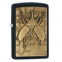 kupit-Зажигалка Zippo Steampunk Beetle-v-baku-v-azerbaycane