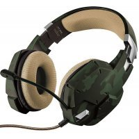 Игровая гарнитура Trust GXT 322C Gaming Headset - green camouflage (20865)