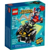 КОНСТРУКТОР LEGO Super Heroes Mighty Micros: Бэтмен против Харли Квин (76092)