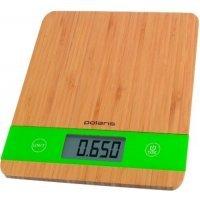 kupit-Весы кухонные Polaris PKS 0545D (Bamboo)-v-baku-v-azerbaycane