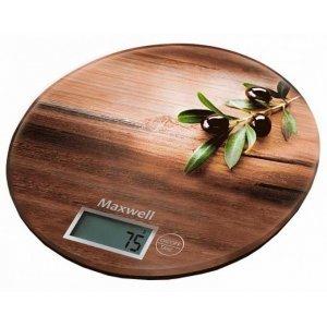 Весы кухонные Maxwell MW-1460 (Коричневый)