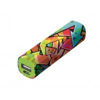 kupit-Портативное зарядное устройство (Power Bank) Trust Tag PowerStick 2600 - graffiti arrows (20868)-v-baku-v-azerbaycane