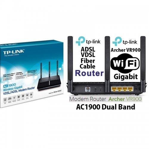 Модем TP -LINK AC1900 WIRELESS DUAL BAND GIGABIT VDSL2 MODEM ROUTER (VR900)