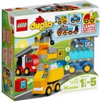 КОНСТРУКТОР LEGO DUPLO My First Мои первые машинки (10816)