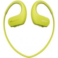 Плеер-наушники Sony NW-WS413 Lime green