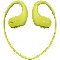 kupit-Плеер-наушники Sony NW-WS413 Lime green-v-baku-v-azerbaycane