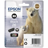 Картридж Epson I/C (pb) XP600/7/8 new Black (C13T26114012)