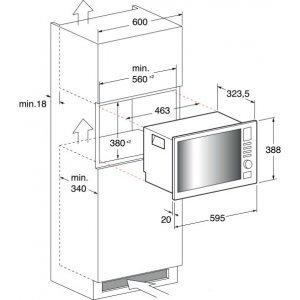 Микроволновка Indesit MWI 122.2 X (Silver)