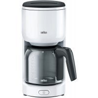 kupit-Капельная кофеварка Braun KF3120 Wh-v-baku-v-azerbaycane