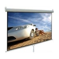"kupit-Проекционный экран Cyber Manual Screen (70""x70"")180x180cm, White Matt 3D M180 (PMS180)-v-baku-v-azerbaycane"