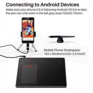 """графический Планшет Huion HS64 Android 6"""""""