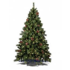 Елка Royal Christmas COLORADO PP/PVC PREMIUM LED + CONES - HINGED HOLLAND (1.80 metr)