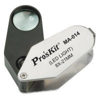 kupit-Ручная линза Лупа с подсветкой Pro`sKit MA-014-v-baku-v-azerbaycane