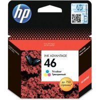 Струйный картридж HP № 46 CZ638AE (Cyan, Magenta, Yellow)