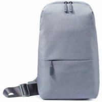 kupit-Рюкзак для ноутбука Xiaomi Mi City Sling Bag Light Grey (ZJB4070GL) (ZJB4070GL)-v-baku-v-azerbaycane