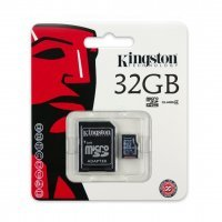 Карта памяти Kingston 32 GB microSDC Card + SD Adapter (SDC4/32GB)
