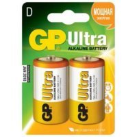 Батарейки GP battery Ultra Alkaline D(2) 13AU-2UE2