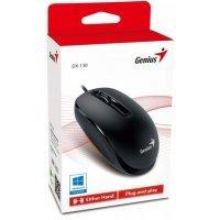 kupit-Проводная мышь USB Genius DX-130 (BLACK)-v-baku-v-azerbaycane