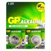 Батарейки GP battery Alkaline A76(2) A76F-2C2