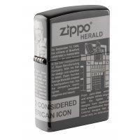 Зажигалка Zippo Newsprint Design