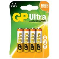 Батарейки GP battery Ultra Alkaline AA(4)15AU-2UE4