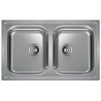 kupit-Кухонная мойка Hotpoint-Ariston SC 79W2 (X) HA (Silver)-v-baku-v-azerbaycane