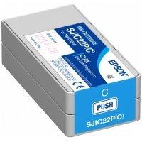 kupit-Картридж Epson SJIC22P(C) INK FOR TM-C3500 / Blue (C33S020602)-v-baku-v-azerbaycane