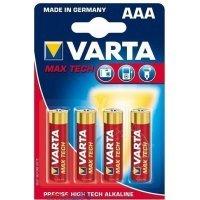 kupit-Батарейки VARTA MAX TECH 4703 AAA (4)-v-baku-v-azerbaycane