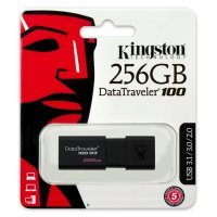 kupit-Флеш память USB Kingston 256 GB 3.0 DataTraveler 100 G3 (DT100G3/256GB)-v-baku-v-azerbaycane