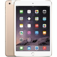Планшет Apple iPad Mini 4: Wi-Fi + Cellular 128GB - Gold (MK782RK/A)
