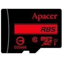 kupit-Карта памяти Apacer 64 GB microSDXC/SDHC UHS-I U1 Class 10 (R85 MB/s) + SD adapter (AP128GMCSX10U5-R)-v-baku-v-azerbaycane