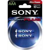 Батарейки Sony battery Stamina Plus AAA(2) AM4-B2D