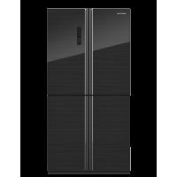 kupit-Холодильник HOFFMANN NFFD-191BG (Black)-v-baku-v-azerbaycane