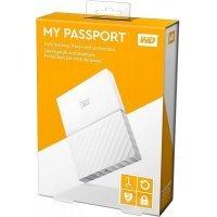 kupit-Внешний жёсткий диск WD My Passport 1TB USB 3.0 White (WDBYNN0010B)-v-baku-v-azerbaycane