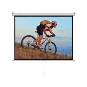 Проекционный экран Cyber M120D Manual Screen (96 x70 )240x180cm, White Matt 3D (M120D)