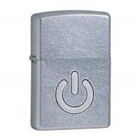 """kupit-Зажигалка Zippo """"Power Button""""-v-baku-v-azerbaycane"""