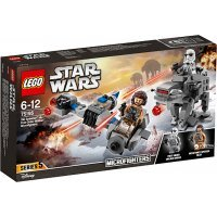 КОНСТРУКТОР LEGO Star Wars Звездные Войны Бой пехотинцев Первого Ордена против спидера (75195)