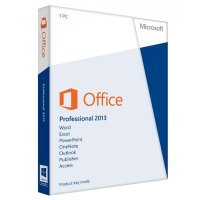 Офисная программа Microsoft Office Pro 2013 32/ 64 Russian DVD Box (269-16288)
