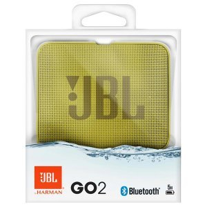 Акустическая система JBL GO 2 Yellow (JBLG02YEL)