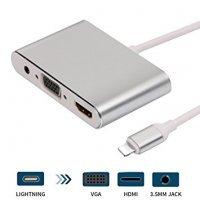 kupit-Конвертер Lighting to HDMI, VGA, Audio-v-baku-v-azerbaycane
