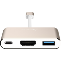kupit-Переходник Apacer DH610 USB 3.1 Type-C HUB (APDH610C-1)-v-baku-v-azerbaycane