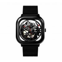 kupit-Электронные часы Xiaomi CIGA Design Full Hollow Mechanical watch (Black)-v-baku-v-azerbaycane
