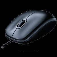 kupit-Проводная мышь Logitech Mouse M90 Grey-v-baku-v-azerbaycane