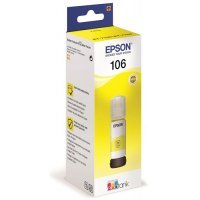 Чернила Epson 106 EcoTank YE Ink Bottle / Yellow (C13T00R440)