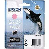 Картридж Epson T760 SC-P600 Light Magenta (C13T76064010)