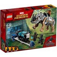КОНСТРУКТОР LEGO Super Heroes Поединок с Носорогом (76099)