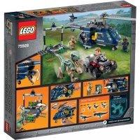 kupit-КОНСТРУКТОР LEGO Jurassic World Погоня за Блю на вертолёте (75928)-v-baku-v-azerbaycane