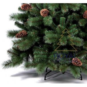 Елка Royal Christmas COLORADO PP / PVC PREMIUM + CONES - HINGED (1.50 metr)