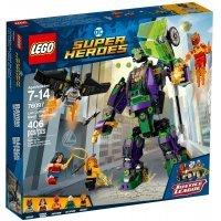 КОНСТРУКТОР LEGO Super Heroes Сражение с роботом Лекса Лютора (76097)