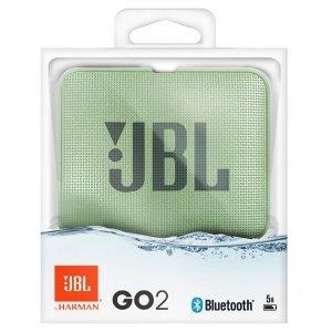 Акустическая система JBL GO 2 Mint (JBLG02MINT)